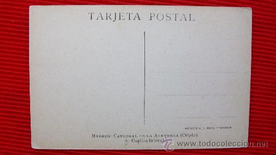 Postales: MADRID - LA ALMUDENA - Foto 2 - 14034803