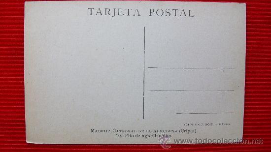 Postales: MADRID - LA ALMUDENA - Foto 2 - 14034832
