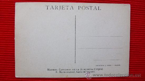 Postales: MADRID - LA ALMUDENA - Foto 2 - 14035044