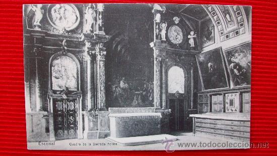 MADRID - EL ESCORIAL (Postales - España - Comunidad de Madrid Antigua (hasta 1939))
