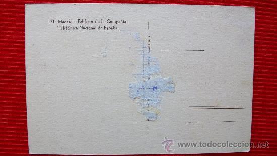 Postales: MADRID - TELEFONICA - Foto 2 - 14035390