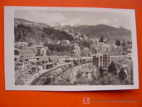 CERCEDILLA (MADRID) - FOTOGRAFICA - ESTACION (Postales - España - Comunidad de Madrid Antigua (hasta 1939))