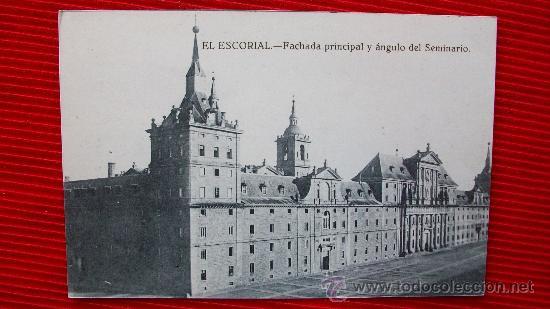EL ESCORIAL (Postales - España - Comunidad de Madrid Antigua (hasta 1939))