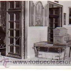 Postales: POSTAL DEL ESCORIAL -CAMARA Y DOMICILIO DE LA INFANTA ISABEL CLARA EUGENIA. Lote 14860914