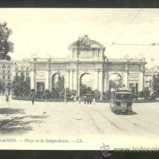 Postales: TARJETA POSTAL DE MADRID - PLAZA DE LA INDEPENDENCIA , PUERTA DE ALCALA- SIN CIRCULAR. Lote 27573101