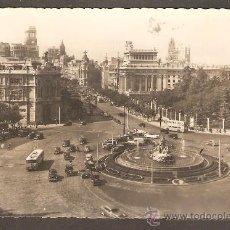 Postales: POSTAL MADRID - PLAZA DE LA CIBELES - DOMINGUEZ - CIRCULADA, 1957. Lote 14564805