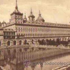 Postales: EL ESCORIAL - ESTANQUE DE LA HUERTA. Lote 14726627