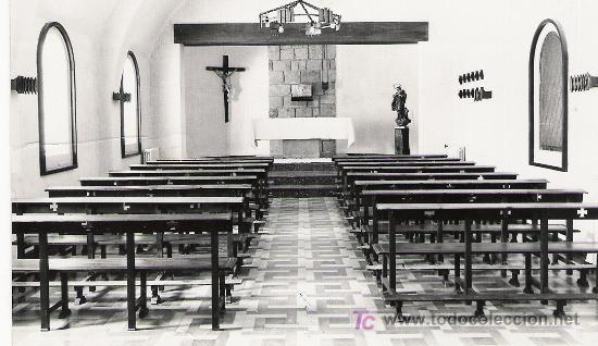 LAS ROZAS - MADRID - CASA DE EJERCICIOS SANTA MARIA - INSTITUCION JAVERIANA - (Postales - España - Madrid Moderna (desde 1940))