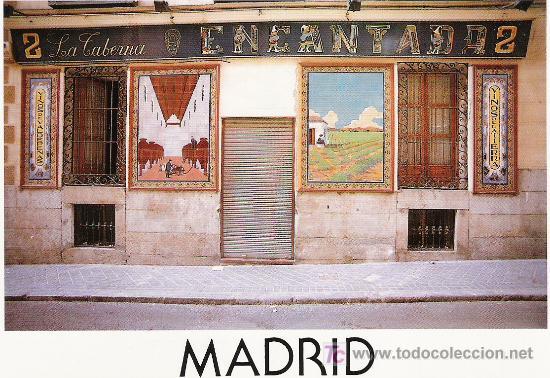 LA TABERNA ENCANTADA (Postales - España - Madrid Moderna (desde 1940))