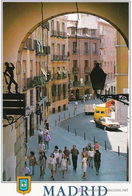 ARCO DE CUCHILLEROS (Postales - España - Madrid Moderna (desde 1940))
