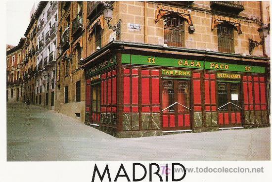 CASA PACO (Postales - España - Madrid Moderna (desde 1940))