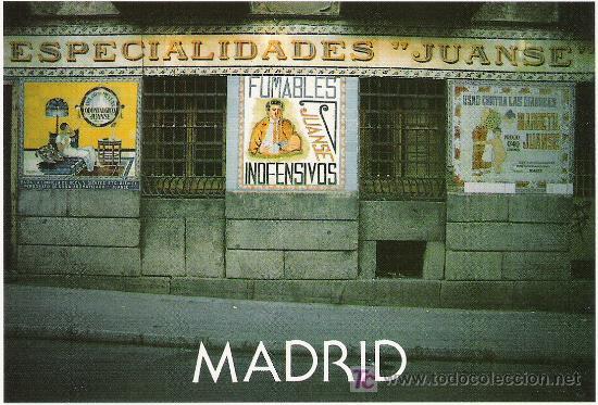 BARRIO MALASAÑA (Postales - España - Madrid Moderna (desde 1940))