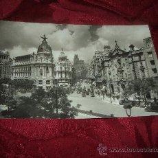 Postales: MADRID CALLE DE ALCALA Y AVDA JOSE ANTONIO,GARCIA GARRABELLA. Lote 15003660