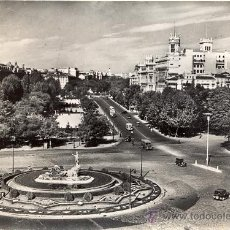 Postales: POST 153 -POSTAL NO CIRCULADA: MADRID - NEPTUNO. PASEO DEL PRADO . SERIE I Nº 4025 A. CAMPANA - CEME. Lote 15132902