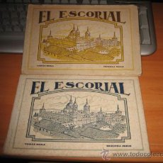 Postales: EL ESCORIAL 1ª Y 2ª SERIE TOMAS MORA . Lote 18665230