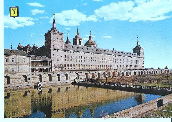 POSTAL DEL ESCORIAL - MADRID , ESCRITA (Postales - España - Madrid Moderna (desde 1940))