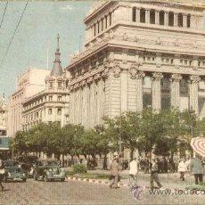 Postales: MADRID.CALLE DE ALCALÁ.EDIFICIO DEL BANCO CENTRAL. Lote 15449784