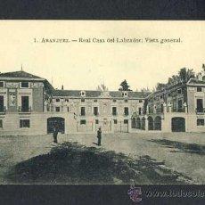 Postales: POSTAL DE ARANJUEZ (MADRID): REAL CASA DEL LABRADOR, VISTA GENERAL (FOTOTIP.ROIG NUM.1). Lote 15455110