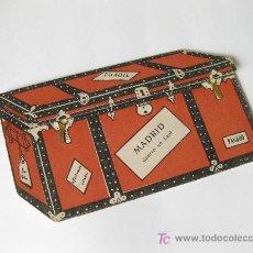 Postales: MADRID DENTRO DE UN BAUL - DESPLEGABLE CON POSTALES DE MADRID.. Lote 23364248