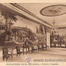 Postales: MONASTERIO DE EL ESCORIAL - PALACIO: COMEDOR. Lote 15754544