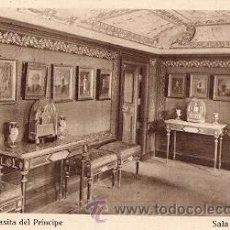 Postales: EL ESCORIAL - CASITA DEL PRINCIPE - SALA DE RETRATOS. Lote 15836383