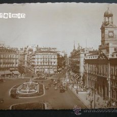 Postales: MADRID - PUERTA DEL SOL AÑOS 50 - NUEVA. Lote 25762620