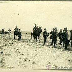 Postales: POSTAL FOTOGRAFICA REY ALFONSO XIII EN CARABANCHEL MADRID 1909. Lote 15951595