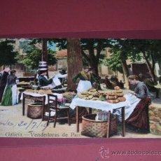 Postales: NO. 8 GALICIA-VENDEDORAS DE PAN,ERNESTO MADRID.POSTAL CIRCULADA 1914-. Lote 15955638