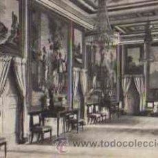 Postales: SAN LORENZO DE EL ESCORIAL - REAL PALACIO: SALON DE EMBAJADORES. Lote 16187531