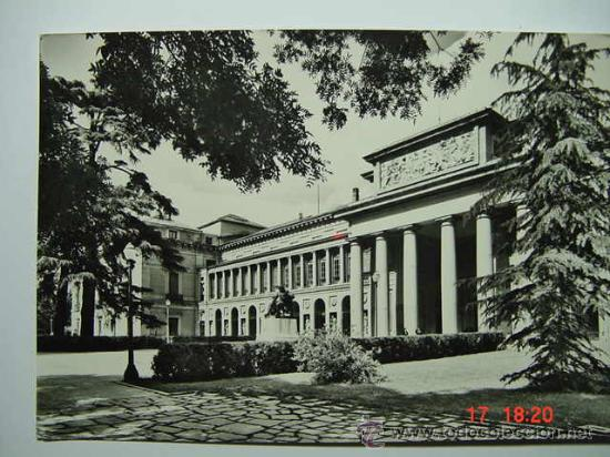 8979 MADRID MUSEO DEL PRADO AÑOS 1950 - MAS DE ESTA CIUDAD EN MI TIENDA C&C (Postales - España - Madrid Moderna (desde 1940))