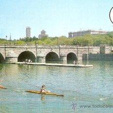 Postales: MADRID.RIO MANZANARES.PUENTE DE SEGOVIA. Lote 16528861