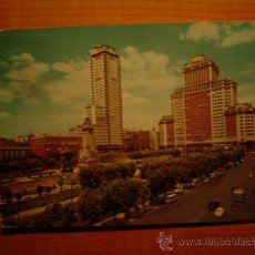 Postales: POSTAL MADRID PLAZA ESPAÑA CIRCULADA. Lote 16600549