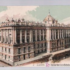 Postales: MADRID. - EL PALACIO REAL,- FACHADA NORTE. ¡IMPECABLE!. Lote 16776719