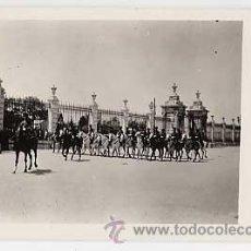 Postales: POSTAL FOTOGRAFICA DE MADRID. GATES OF THE PALACE PARADE GROUNDS. HISPANIC SOCIETY OF AMERICA. Lote 16781503