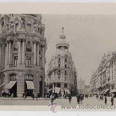 Postales: POSTAL FOTOGRAFICA DE MADRID. GRAN VIA. ED. THE HISPANIC SOCIETY OF AMERICA. SIN CIRCULAR. Lote 16781538