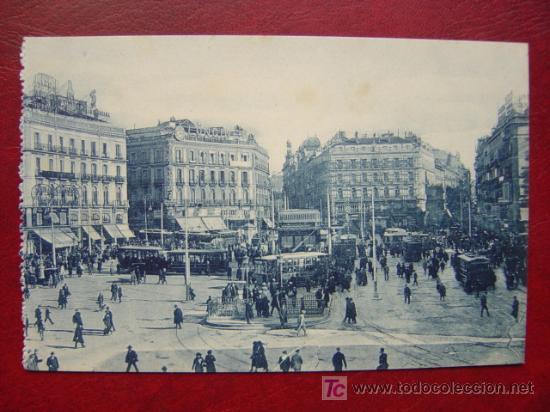 MADRID, PUERTA DEL SOL (Postales - España - Comunidad de Madrid Antigua (hasta 1939))