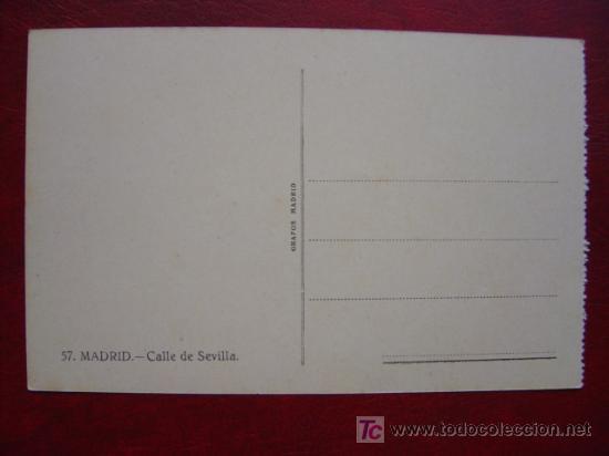 Postales: MADRID, CALLE DE SEVILLA - Foto 2 - 17069898