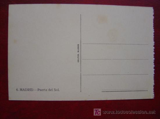 Postales: MADRID, PUERTA DEL SOL - Foto 2 - 17069827