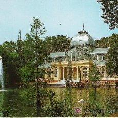 Postales: MADRID - PALACIO DE CRISTAL - ESCUDO DE ORO Nº 102 -. Lote 17319619
