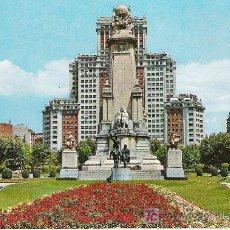 Postales: MADRID - PLAZA DE ESPAÑA - GARCIA GARRABELLA Nº 136 -. Lote 17328485