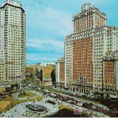 Postales: MADRID - PLAZA DE ESPAÑA - ESCUDO DE ORO Nº 104 -. Lote 17328518