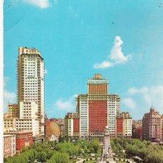 Postales: MADRID - PLAZA DE ESPAÑA - GALLEGOS Nº 1024 -. Lote 17328557