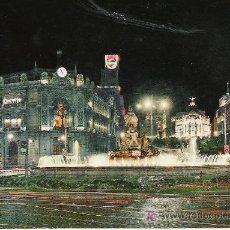 Postales: MADRID - PLAZA DE LA CIBELES - GARCIA GARRABELLA Nº 78 -. Lote 17348828