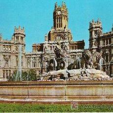 Postales: MADRID - PLAZA DE LA CIBELES Y PALACIO DE TELECOMUNICACIONES - GALLEGOS Nº 46 -. Lote 17348857