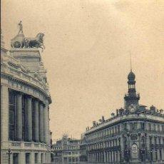 Postales: TARJETA POSTAL - MADRID - CALLE DE SEVILLA - CON TRANVIAS - Nº 195. Lote 17219590