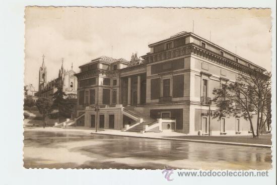 MADRID - MUSEO DEL PRADO - FACHADA PRINCIPAL (Postales - España - Madrid Moderna (desde 1940))