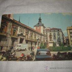 Postales: PLAZA DE LA VILLA Y AYUNTAMIENTO MADRID . Lote 17257046
