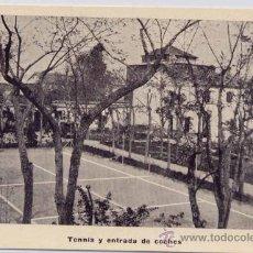 Postales: LEGANÉS(MADRID).-CLÍNICA NEURO-PSIQUIATRICA DE SAN ANTONIO-TENNIS Y ENTRADA DE COCHES. Lote 17441591