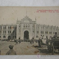 Postales: MADRID, PLAZA DE TOROS.. Lote 17770054