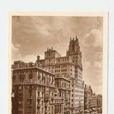 Postales: MADRID - AVENIDA DE PI Y MARGALL. Lote 17802286